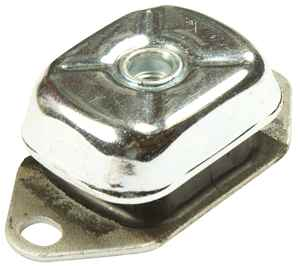 (PT. 4002) 1600/55 -  Small Silent Marine Engine Mount- Max Load 75Kg (M12)
