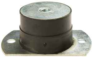 (PT. 5002) Size 2 Heavy Duty Flanged Mount Small: Interleaf- 500Kg (M12)